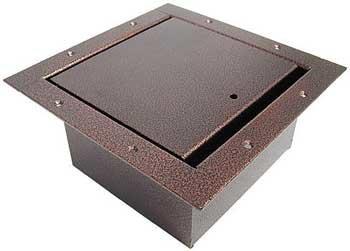 Ace Backstage Co. 122SL-CV Full Vertical Panel Pocket, Antique Copper Vein Powder Coat Finish 122SL-CV