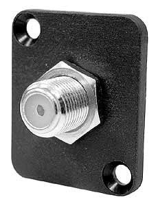 Ace Backstage C25104 F Connector, CATV Isolated Feed Through, Panel Mount C25104