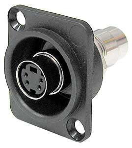 Ace Backstage Co. C25134 S-Video Feed Through, Recessed, Panel Mount C25134