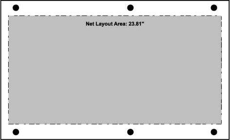 Ace Backstage Co. PNL-120 Aluminum Stage Pocket Panel, Black, Blank PNL-120