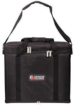 "Odyssey BR316 Portable Rack Bag, 3 RU, 16"" Depth (Black) BR316-BLACK"