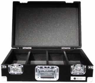 Odyssey CCD450P Carpeted CD Case, Holds 450 CDs (Black) CCD450P
