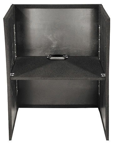"""Odyssey CF2636 Carpeted Fold-out Stand, 26"""" Width, 36"""" Height (Black) CF2636"""
