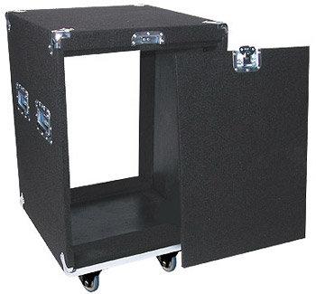 Odyssey CRP14W Carpeted Rack Case w/ Wheels, 14 RU CRP14W