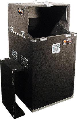 Odyssey CS4814W Carpeted Slide-Style CD DJ Case, 4 RU + 8 RU + 14 RU CS4814W