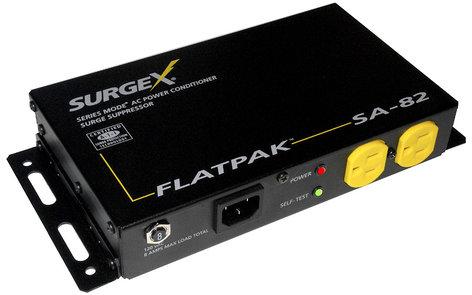 SurgeX SA-82 FlatPak™ Surge Protector & Power Conditioner For Flat Panel Monitors SA-82