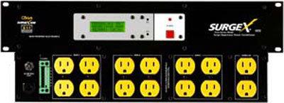 SurgeX SEQ Power conditioner + sequencer SEQ