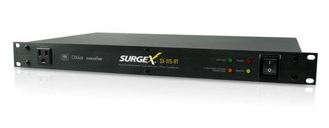 SurgeX SX1115RT 8-Outlet Surge Suppressor and Power Conditioner SX1115RT