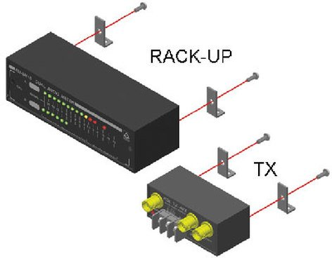 Radio Design Labs MB2-RDL Mounting Kit for RU and TX Series MB2-RDL