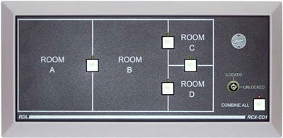 Radio Design Labs RCX-CD1 Remote Control Panel for RCX5C  RCX-CD1