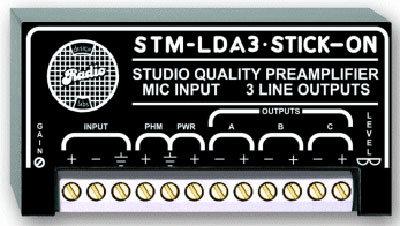 Radio Design Labs STM-LDA3 Ultra Low-Noise Microphone Preamplifier STMLDA3