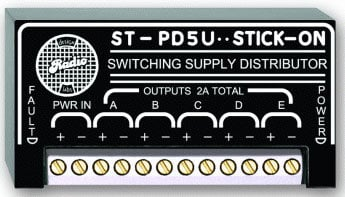 Radio Design Labs ST-PD5U Power Supply Distributor for up to 5 Modules STPD5U