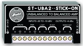 Radio Design Labs ST-UBA2 Unbalanced to Balanced Amplifier STUBA2