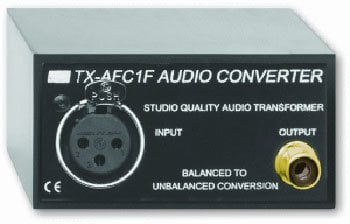 Radio Design Labs TX-AFC1F Balanced to Unbalanced Audio Converter TXAFC1F