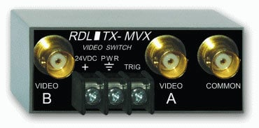 Radio Design Labs TX-MVX Manual Remote-Controlled Video Switch TXMVX