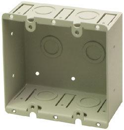 RDL WB-2U Dual-Gang Universal Wall Box WB-2U