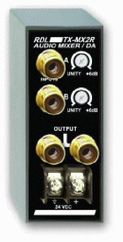 Radio Design Labs TX-MX2R Audio Mixer/Distribution Amplifier TXMX2R