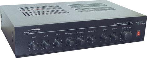 Speco Technologies PMM60A Public Address Mixer Power Amplifier, 60 Watt PMM60A