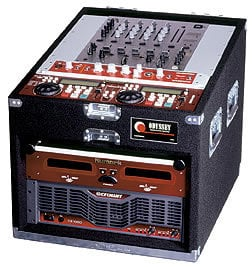 Odyssey PRO136 Compact Combo Rack Case, 13 RU Top, 6 RU Bottom PRO13-6