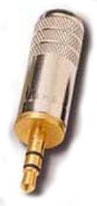 Switchcraft 35HDNAU  3.5mm Plug (S) Gold  35HDNAU