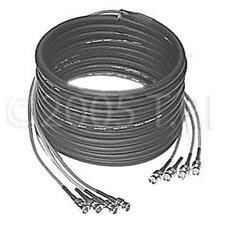 TecNec 4BNC-12 12Ft  4 ch BNC/BNC cable  4BNC-12