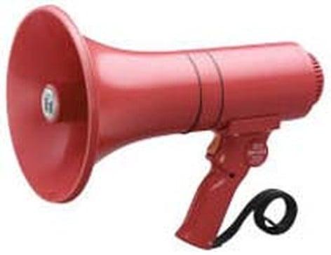 TOA ER1215S Megaphone 15w Siren Red  ER1215S