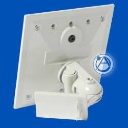 Atlas Sound APXBK-N APX Mounting Bracket, Neutral Grey APXBK-N