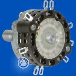 Atlas Sound HX12-R  Rotary Switch, 2 Pole, 6 Position, Continuous Rotation, Includes Hardware HX12-R