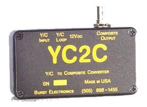 Burst Electronics YC2C Y/C-to-Composite Converter YC2C