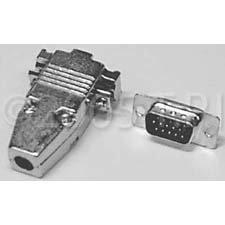 TecNec DP15HD Connector,Male Body 15p VGA HD  DP15HD