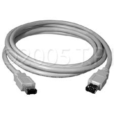 TecNec FWC-70 Cable Firewire 6 pin/6pin 70`  FWC-70