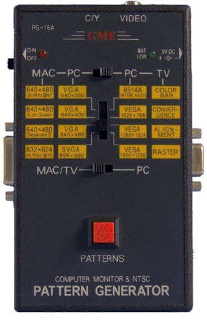 TecNec GME-PG16A Pattern Generator  GME-PG16A