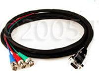 TecNec HD3BNC-15HDM-10 Cable,HDTV 3ch BNC M/VGA M 10`  HD3BNC-15HDM-10