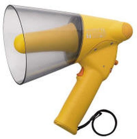 TOA ER1206W Megaphone 6w Whistle Yellow  ER1206W