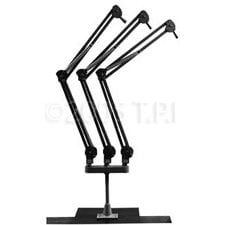 O.C. White Co. OCW-519003 Triple Mic Arm Beige  OCW-519003