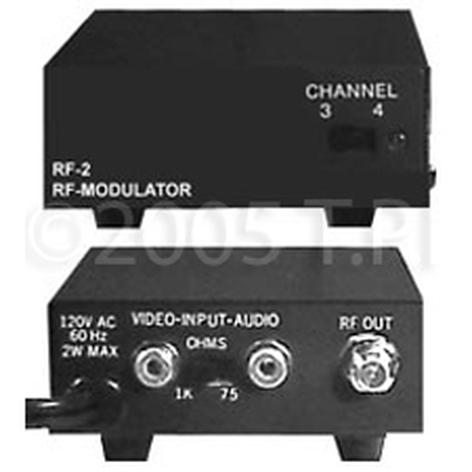 TecNec RF2 RF modulator w/ Mono Audio RF2