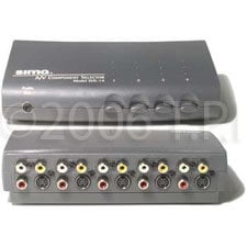 TecNec SVS14-TECNEC Switcher,SIMA Pass 4 input A/V  SVS14-TECNEC