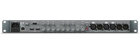 Blackmagic Design Hyperdeck Studio Pr2 Ssd Broadcast Dual Recorder Deck With 6g Sdi Analog And Hdmi 4k Connections Full Compass Systems