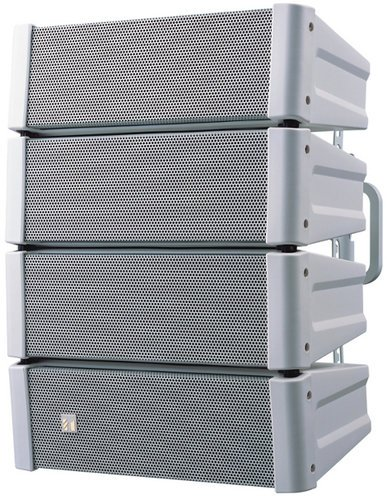 TOA HX-5W WP 600W Weather-Resistant Variable Dispersion Speaker in White HX5W-WP