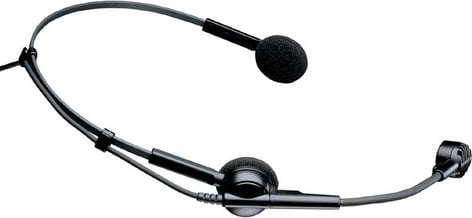 "Audio-Technica ATM75C  Headworn Condenser Microphone for Wireless, Less Power Module, Unterminated 55"" Cable ATM75C"