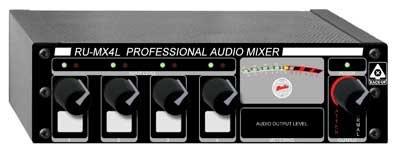 Radio Design Labs RU-MX4L 4-Input Line Mixer RUMX4L