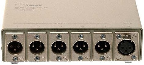 Telex TW5W-TELEX 1 In 5 Out Splitter Box TW5W-TELEX