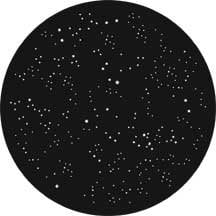 Rosco Laboratories 71054 Gobo Starry Sky 71054