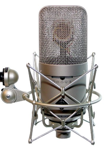 Neumann M 149 Tube Large Diaphragm Multipattern Condenser Tube Microphone in Satin Nickel Finish M149-TUBE