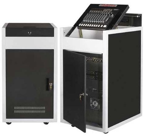 Chief Manufacturing ECR12/16ST 12RU/16RU Elite Converta Steel Rack ECR12/16ST