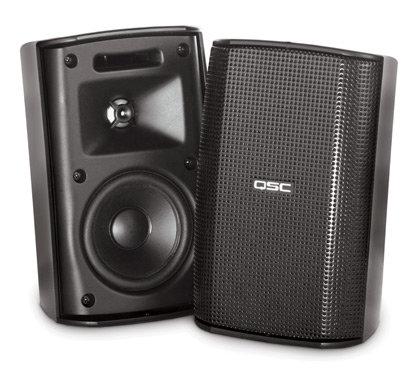 "QSC AD-S32T-BLACK Loudspeaker  3"" 30W Black AD-S32T-BLACK"