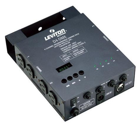Leviton D4-DMX-5 4 Channel Portable Dimmer D4-DMX-5