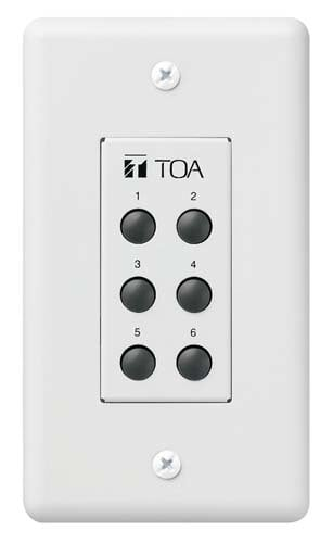 TOA ZM9001 Remote Control Input Selector  ZM9001