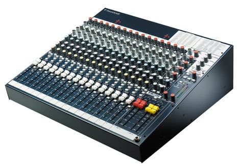Soundcraft FX16ii 16-Channel Compact Mixer with Onboard Lexicon Effects Processor FX16II