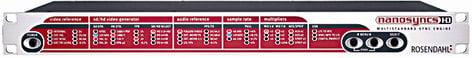 Rosendahl NANOSYNCS-HD Video HD Sync & Word Clock Generator NANOSYNCS-HD
